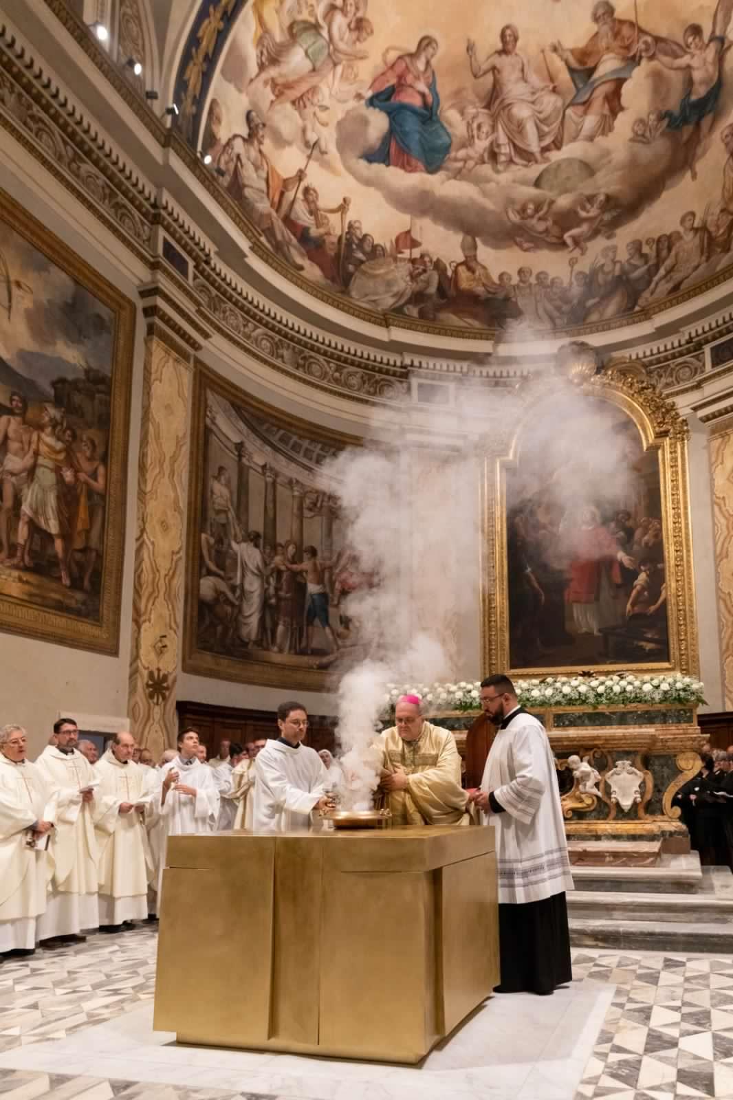 350° Anniversario della Dedicazione della Cattedrale e conclusione del restauro artistico