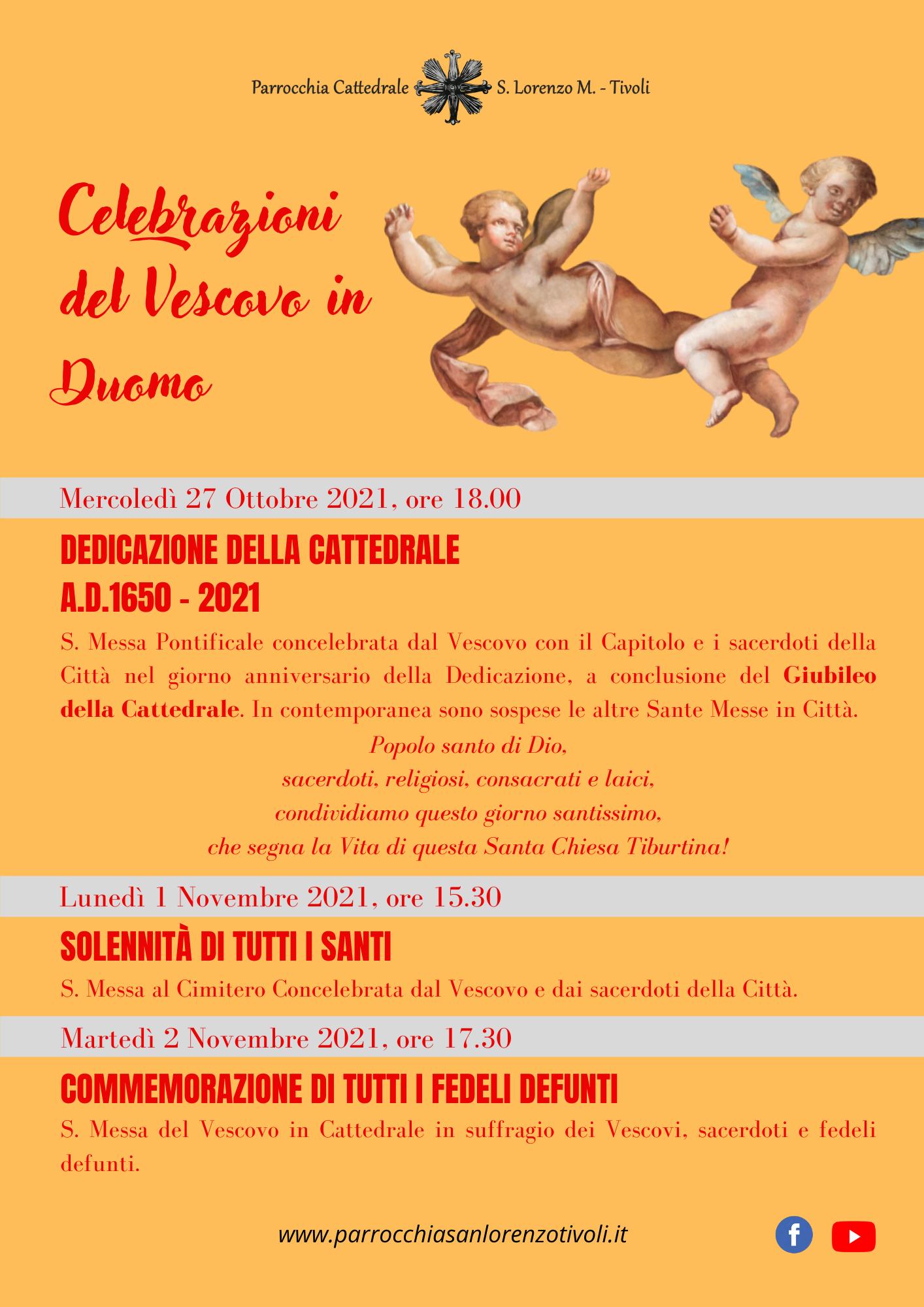 Celebrazioni del Vescovo in Duomo